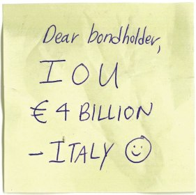 "<img src=""Italy IOU.jpg"" alt=""Italy bond debt"" />"